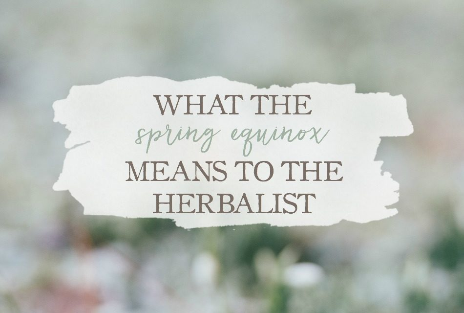 What The Spring Equinox Means To The Herbalist