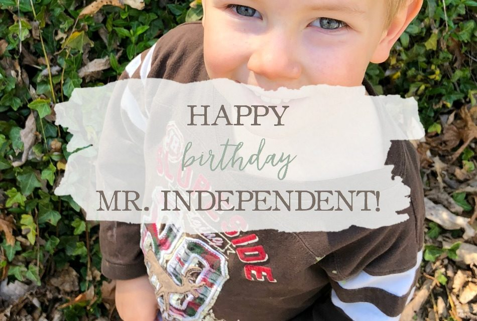 Happy Birthday, Mr. Independent!