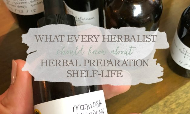 What Every Herbalist Should Know About Herbal Preparation Shelf-Life