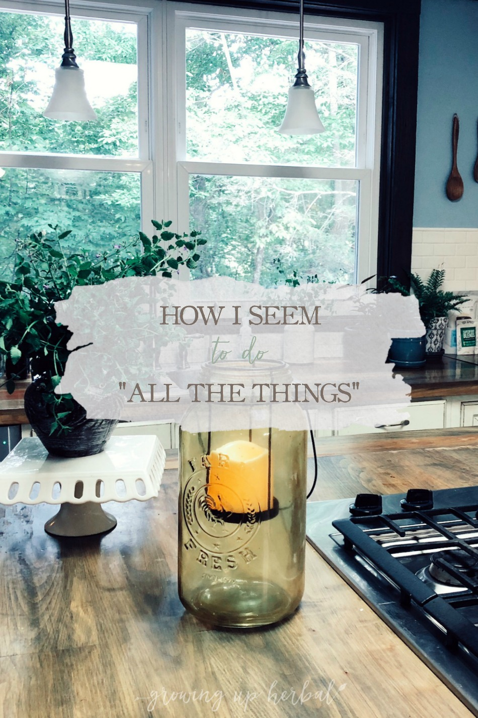 "How I Seem To Do ""All The Things"" 