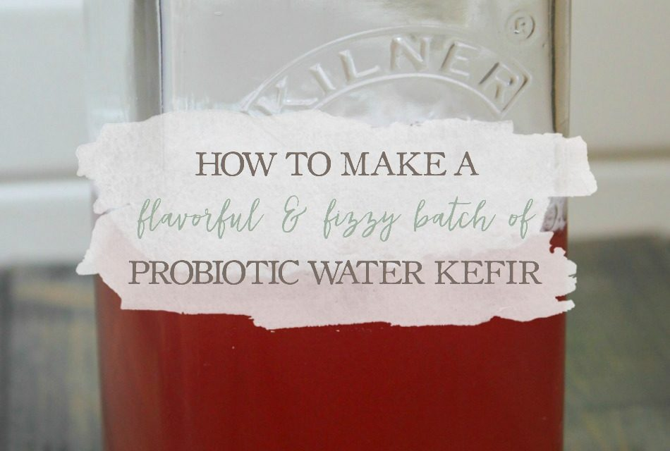 How To Make A Flavorful & Fizzy Batch of Probiotic Water Kefir