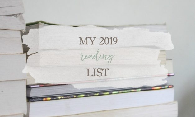 My 2019 Reading List