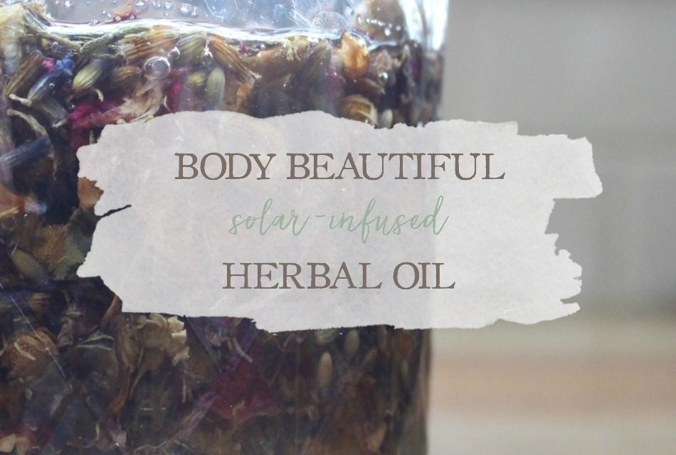 Body Beautiful Solar-Infused Herbal Oil