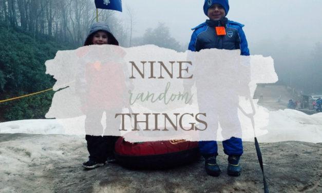 9 Random Things
