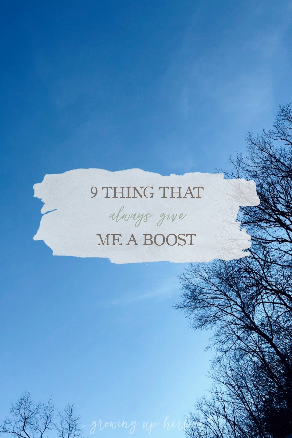 9 Little Things That Always Give Me A Boost