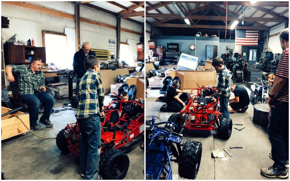 "One of the Big Kids | Growing Up Herbal | Judah has joined the ranks of one of the ""big kids"" on Dean's side of the family when he recently helped his older cousins build some go-karts from scratch."