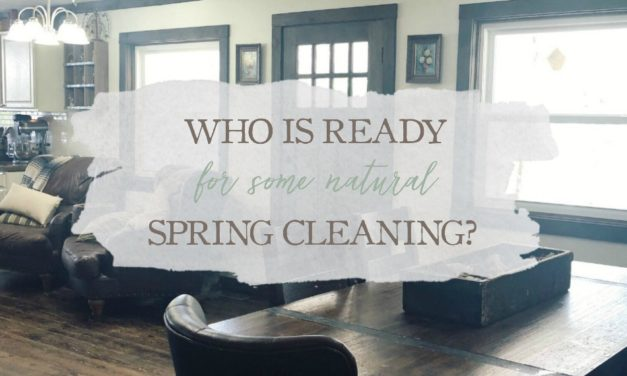 Who's Ready For Some Natural Spring Cleaning?