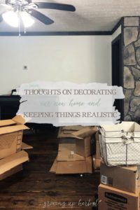 Thoughts On Decorating Our New Home & Keeping Things Realistic | Growing Up Herbal | I'm sharing some thoughts on the planning process I'm using to decorate my new home and how I'm staying realistic throughout the process. Check it out!