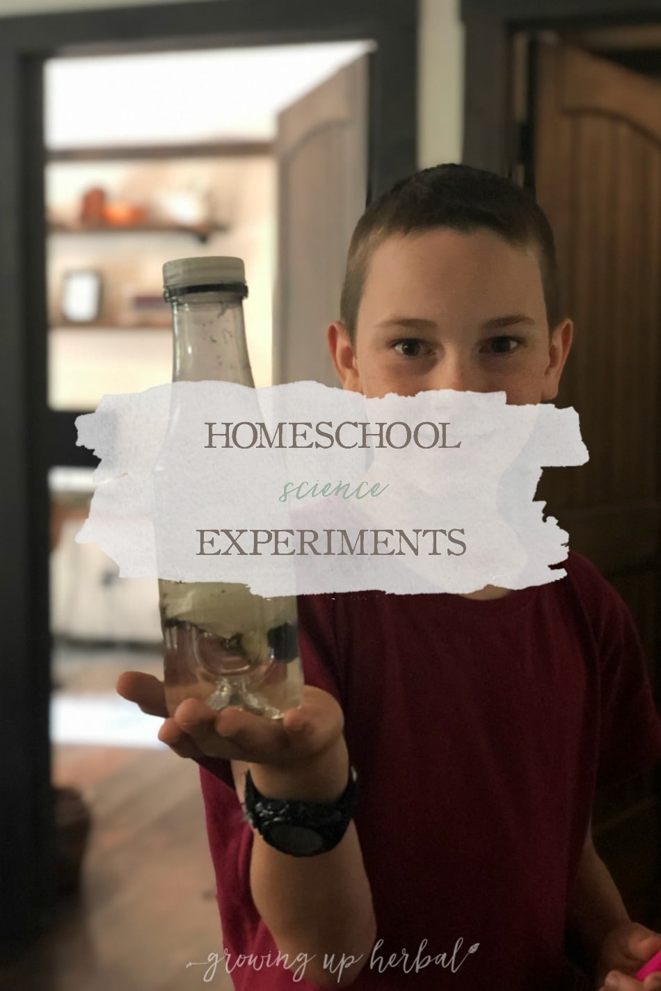 Homeschool Science Experiments | Growing Up Herbal | Let's talk about homeschool science experiments. How much time and effort do you put into them in your homeschool schedule?