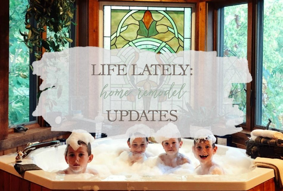 Life Lately: Home Remodel Updates