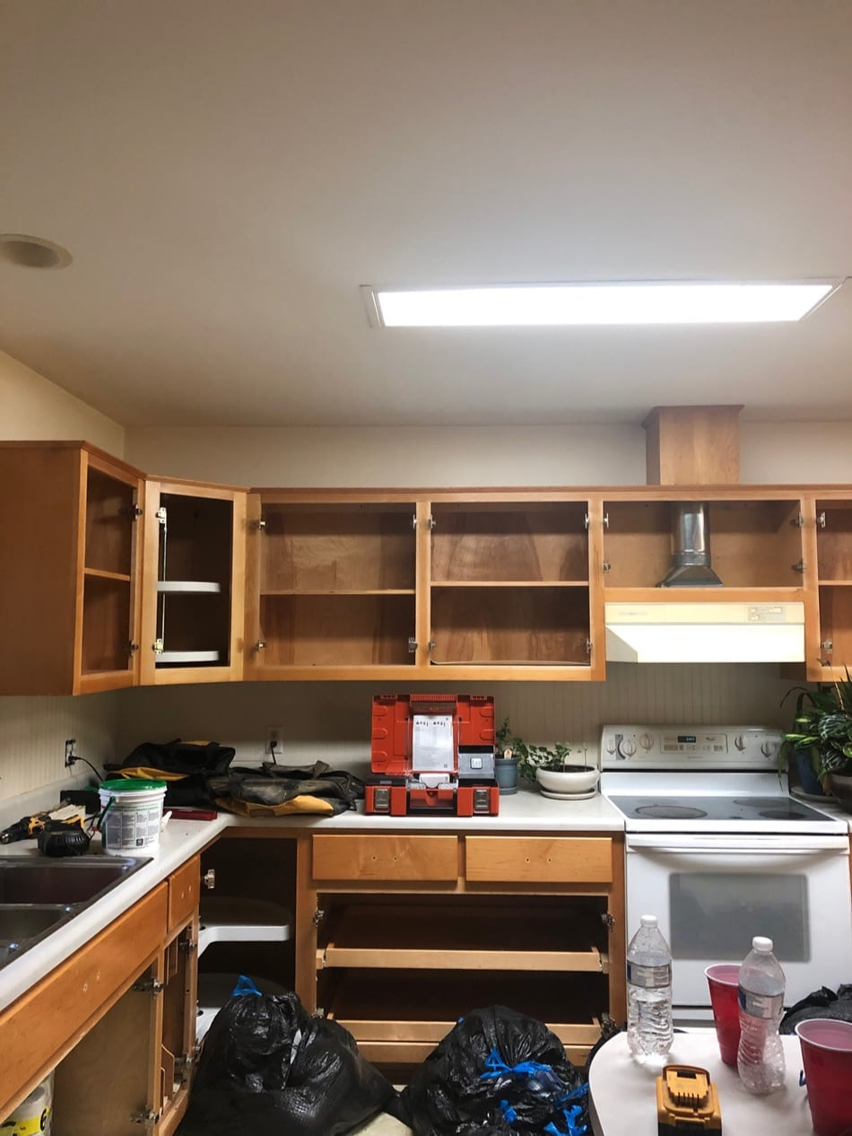 Making A New House Our New Home | Growing Up Herbal | Today, I'm sharing a bit about the initial remodel projects we've been working on for the last 6 weeks in our new home in the valley!