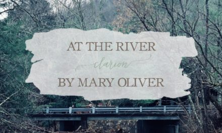 """At the River Clarion"""" by Mary Oliver"""