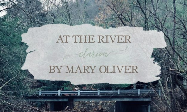 "At the River Clarion"" by Mary Oliver"