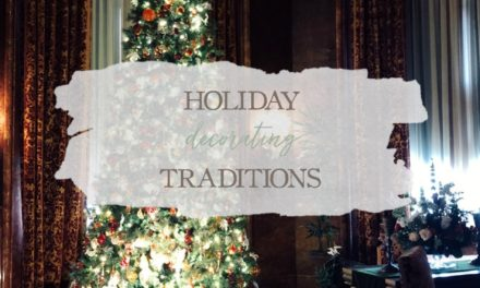 Holiday Decorating Traditions