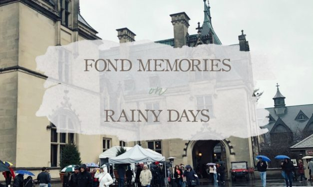 Fond Memories of Rainy Days