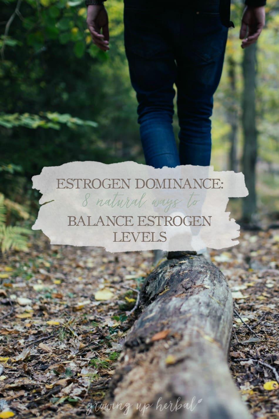 Estrogen Dominance: 8 Natural Ways To Balance Estrogen Levels
