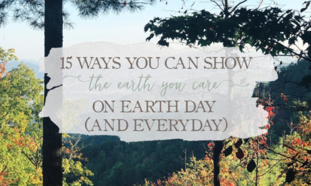 15 Ways You Can Show The Earth You Care On Earth Day (And Everyday)