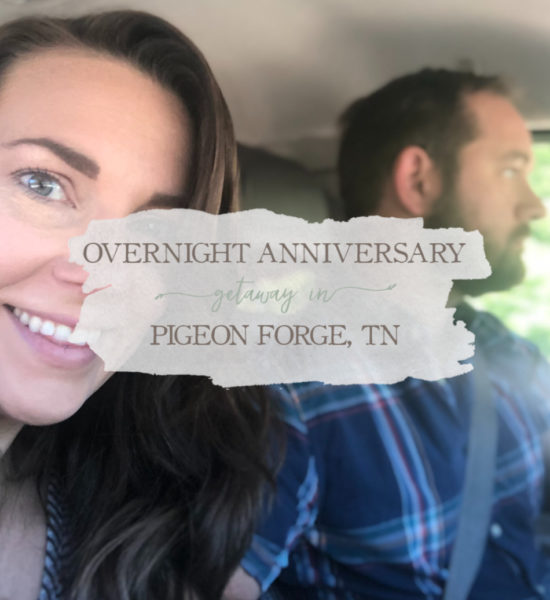 Overnight Anniversary Getaway in Pigeon Forge, Tennessee