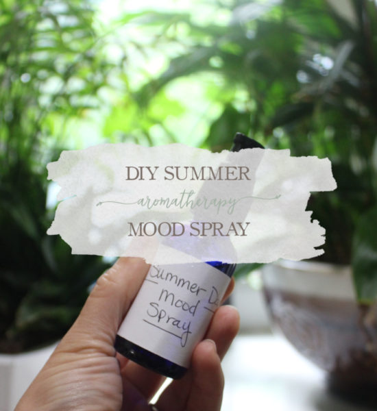 DIY Summer Aromatherapy Mood Spray