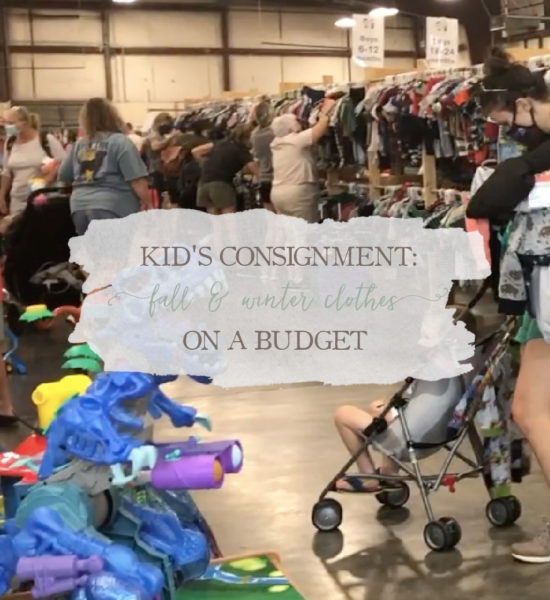 Kid's Consignment: Fall & Winter Clothes on a Budget
