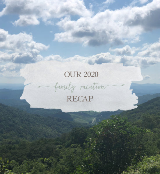Video Recap: Take A Look At Our 2020 Family Vacation