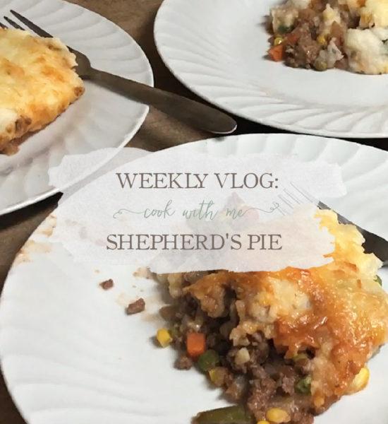 Cook With Me Vlog: Shepherd's Pie
