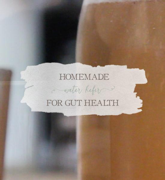 Vlog: Homemade Water Kefir for Gut Health
